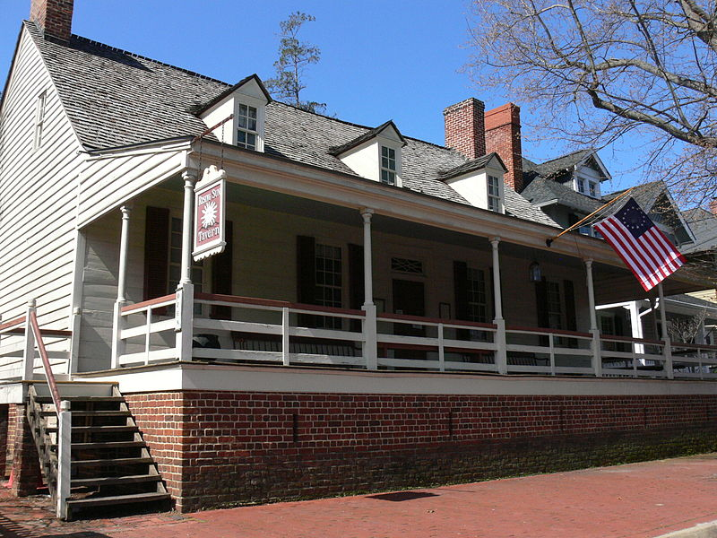 The Rising Sun Tavern as it looks today.  Photo Credit: http://en.wikipedia.org/wiki/File:RisingSunTavern_March2011.JPG