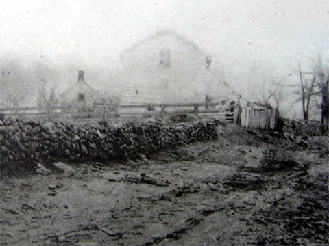 Section of the stone wall along Sunken RoadPhoto Credit: http://www.civilwarbattlefields.us/fredericksburg/